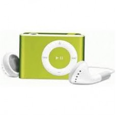 Mp3 Player Mini com Slot para Cartão - Verde