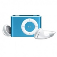 Mp3 Player Mini com Slot para Cartão - Azul