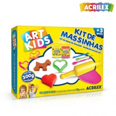 Kit Massinhas de modelar 3 300g 40003 Acrilex