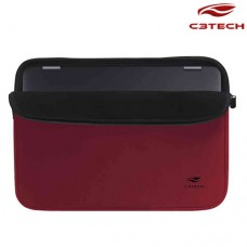"Capa Sleeve para Notebook Seattle 15.6"" SL-15RD C3 Tech Vermelha"