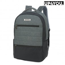 Mochila para Notebook UP4YOU Cinza MJ48667UP