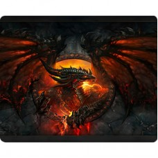 Mouse Pad Tecido Polytec 22x18 - WOW Deathwing