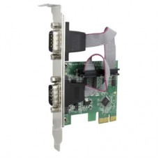 Placa de Rede PCI-Express Serial 2 Portas DB9 KP-T89
