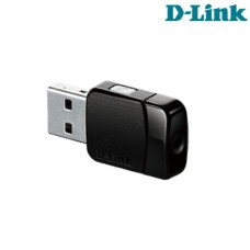 Adaptador Wireless USB 2.0 5Ghz AC600 MU-MIMO DWA-171 D-Link