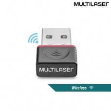 Mini Adaptador Wireless USB 150Mbps Multilaser RE035