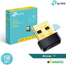 Mini Adaptador Wireless USB Nano N 150Mbps TL-WN725N TP-LINK
