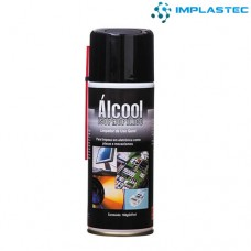 Álcool Isopropílico Spray Aerossol Implastec 160g/227ml