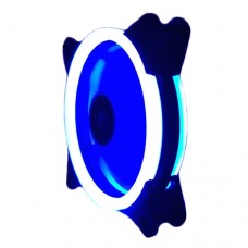 Cooler Fan para PC DX-12D Dex 12x12 cm com 30 LEDs Dupla Face - Azul