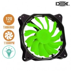 Cooler Fan para PC 12x12cm com LED DX-12F Dex - Verde