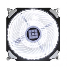 Cooler Fan para PC DX-12H Dex 12x12 cm com LED Extra Forte - Branco