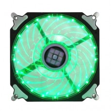 Cooler Fan para PC DX-12H Dex 12x12 cm com LED Extra Forte - Verde