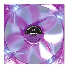 Cooler Fan para PC DX-12L Dex 12x12 cm com LED - Roxo