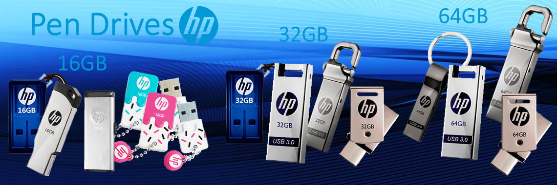 Banner Pen Drives HP