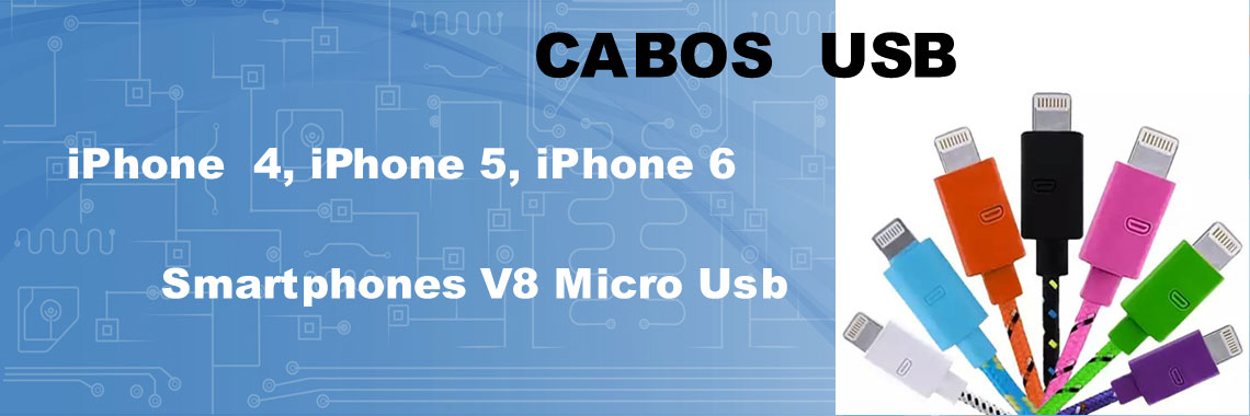 Banner Cabos USb