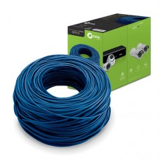 Caixa de Cabo CFTV 305Mts 0,51mm 4 Pares Trançados Azul Giga Security GS0229