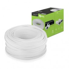 Caixa de Cabo CFTV 305Mts 0,51mm 4 Pares Trançados Branco Giga Security GS0230