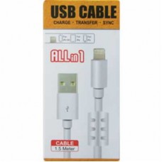 Cabo Usb para iPhone 5 e 6 iPad Air com Filtro