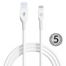 Cabo USB Lightning MFI Strong 2.4A 1,2mts iWill Branco