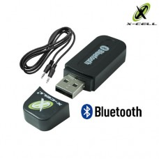 Adaptador Receptor de Áudio Bluetooth USB + P2 X-Cell XC-BTT-02