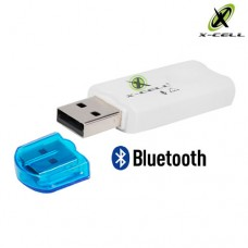 Adaptador Receptor de Áudio Bluetooth USB X-Cell XC-BTT-03