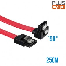 Cabo de Dados Sata p/ HD 25cm 180G/90G sem Log PC-CBST03 Plus Cable