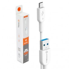 Cabo USB Micro USB/V8 1m 1A Solid 989 PMCELL CB-11 Branco