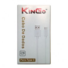 Cabo USB Type C USB 2.0 2.1A Kingo