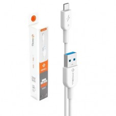 Cabo USB Type C 1m 1A Solid 999 PMCELL CB-11 Branco