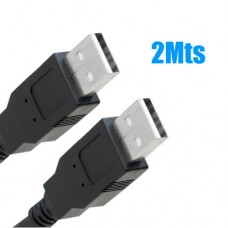 Cabo USB 2.0 Macho x Macho 2.0 2Mts X-Cell XC-USB-MM