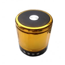 Mini Caixa de Som Bluetooth/FM/SD YST-890 - Dourada