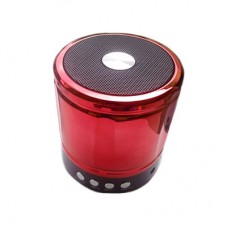 Mini Caixa de Som Bluetooth/FM/SD YST-890 - Vermelha