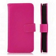 Capa Book Cover para Moto One - Pink