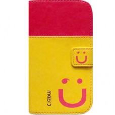 Book Cover para Grand 2 Duos 7102 7106 - Mob Pink Amarela