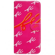 Capa Book Cover para Moto One Vision P40/One Action/P40 Power - Fé Pink