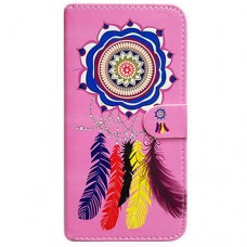 Capa Book Cover para Moto One Vision P40/One Action/P40 Power - Filtro Sonhos Rosa