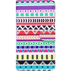 Capa Book Cover para Moto G5 - Etnica Colorful