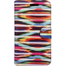 Capa Book Cover para Galaxy A8 2018 Plus - Aquarela