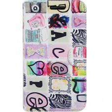 Book Cover para iPhone 6 - Love Colorida