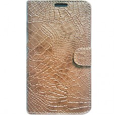 Book Cover para iPhone 6 - Craquelê Old Gold