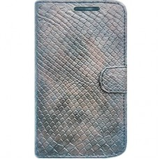 Book Cover para iPhone 6 - Craquelê Old Silver