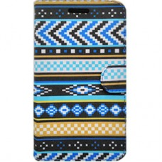 Book Cover para iPhone 6 - Etnica Azul