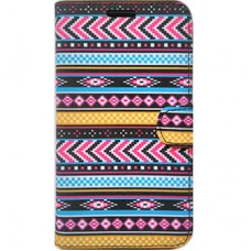 Capa Book Cover para Galaxy S10 Plus - Etnica Pink Azul