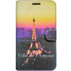 Capa Book Cover para Galaxy A8 2018 Plus - Paris France