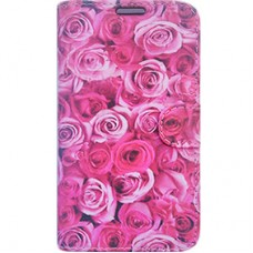 Capa Book Cover para Galaxy M10 - Rosas
