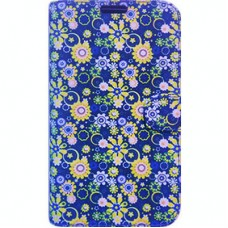Book Cover para iPhone 7 - Yellow Blue Floral