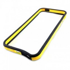 Bumper para iPhone 6 Plus - Preto Amarelo