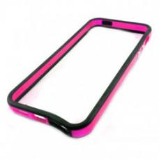 Bumper para iPhone 6 Plus - Preto Pink