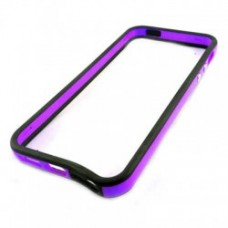 Bumper para iPhone 6 Plus - Preto Roxo