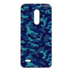 Capa para LG K11 Plus Case2you - Camuflada Azul