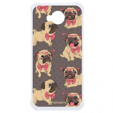 Capa para LG K10 Power Case2you - Antishock Pug Fofa